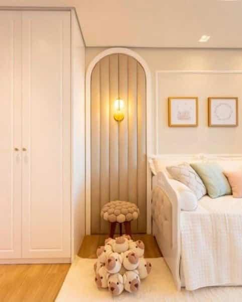 O casal, Léo Santana e Lorena Improta, mostrou todos os detalhes do quarto de Liz
