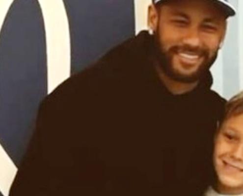 Neymar Jr fez uma segunda festa de aniversário para o seu filho