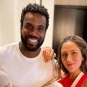Rafael Zulu e Aline Becker serão pais de um menino