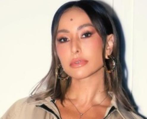 Sabrina Sato impressionou os internautas com uma foto da filha