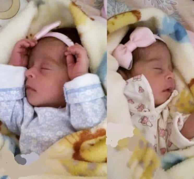 As duas filhas gêmeas idênticas de Bruna Surfistinha