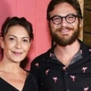 Fabiula Nascimento e Emílio Dantas estão grávidos de gêmeos