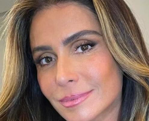 Giovanna Antonelli posou com as filhas gêmeas idênticas e encantou