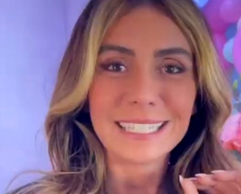 Giovanna Antonelli comemorou o aniversário de onze anos de suas gêmeas