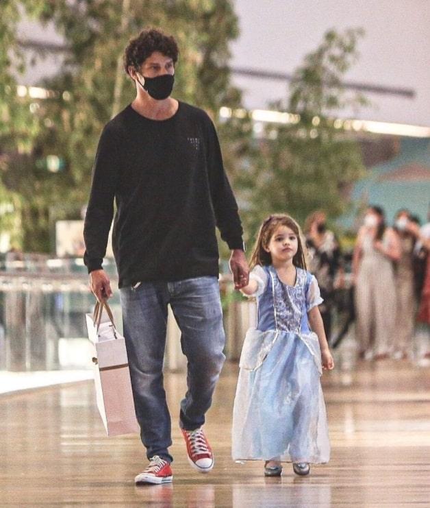 José Loreto com a sua filha Bella