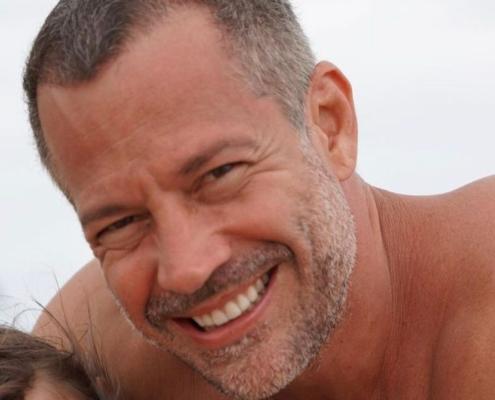 O ator Malvino Salvador viajou junto com a família